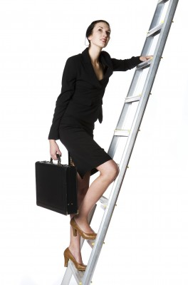 Businesswoman Climbing Ladder 130117 123rf 4387213_s (2)